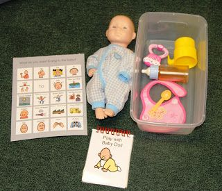Communication and Play Supports within each activity box. Considerate Classroom: Early Childhood Special Education Edition: Building Functional Pretend Play Centers