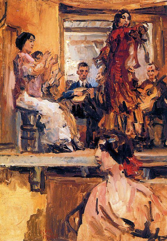 Isaac Israëls (1865-1934) - Cafe chantant, la Feria