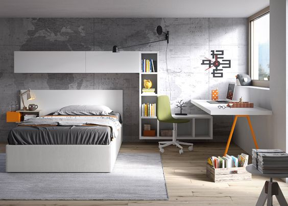 NIDI Teenage Bedroom Design by Battistella at MOOD