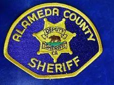 ALAMEDA COUNTY, CALIFORNIA SHERIFF SHOULDER PATCH