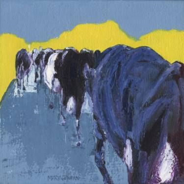 Cows in a Lane