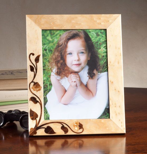 Floriale Marquetry Frame - Zoom