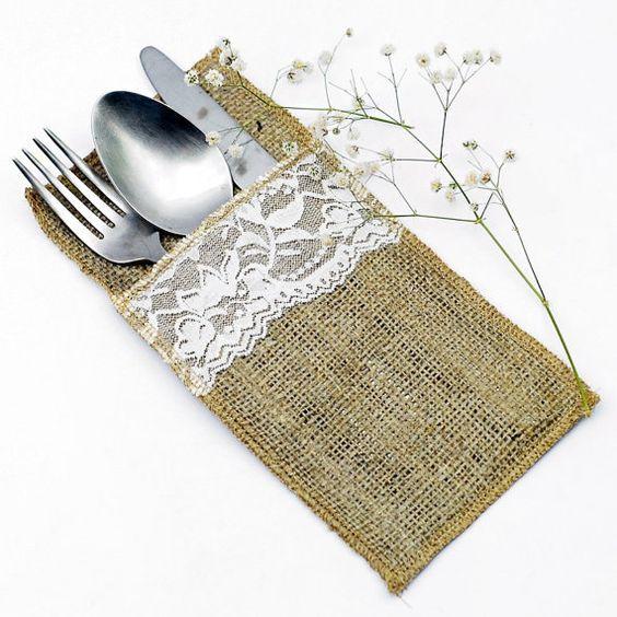 Cordón del Hessian/arpillera cubiertos por littlecrafthings en Etsy
