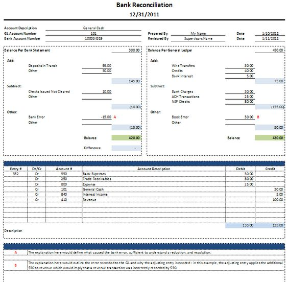 Income and Expense Budget Spreadsheet Template in MS Excel u2013 Excel - blank bank reconciliation template