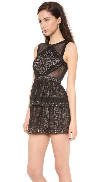 BCBGMAXAZRIA Joselyn Peplum Dress
