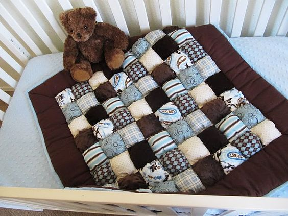 Puff quilts... so darn awesome!