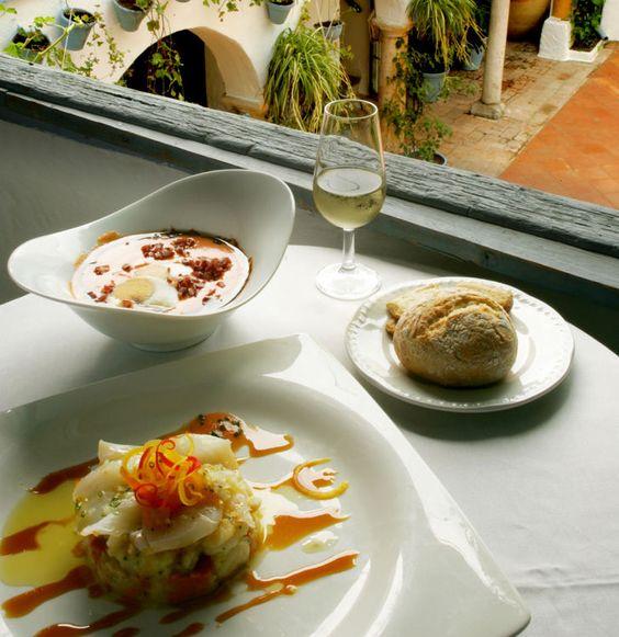Selección de platos típicos de Córdoba / A selection of typical dishes in Córdoba