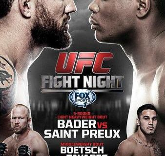 UFC Fight Night 47: Bader vs. St. Preux