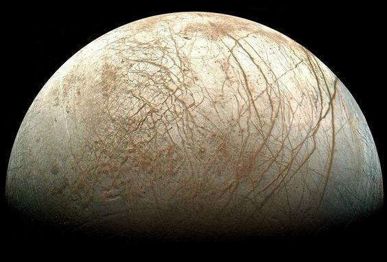 Europa - Icy moon of Jupiter