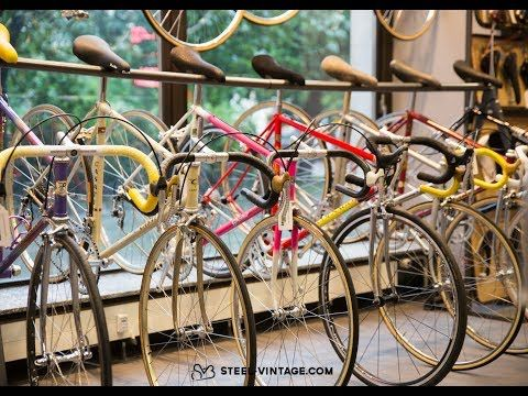 Steel Vintage Bikes Is The Online Shop For Classic And Vintage Bicycles Browse The Finest Selection Of Brands As Bianch Vintage Bicycles Vintage Bikes Colnago