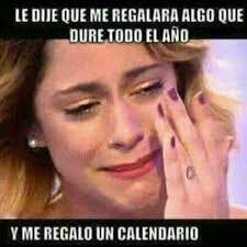 Me regalo un calendario