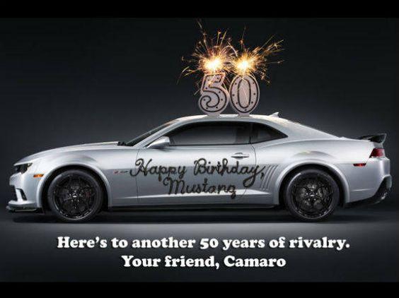 Canadauence TV: Chevrolet provoca Ford no aniversário do Mustang
