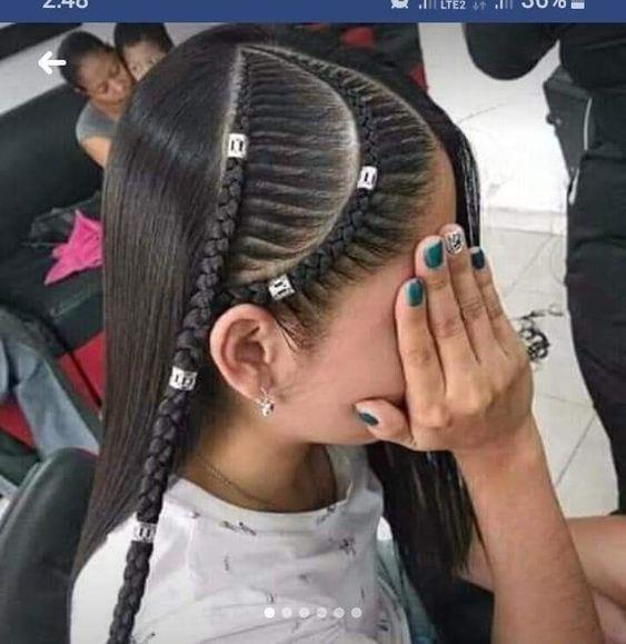 Coiffures De Retour A L 39 Ecole Rapides Et Faciles Pour Les Adolescents Tresses Easy En 2020 Style De Cheveux Coiffure Coiffure Petite Fille Mariage