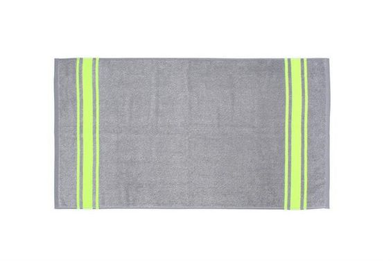 Towel Grey/Yellow Neon 110x60
