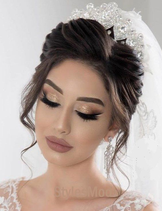 Cute Lovely Makeup Look For 2019 Bridal Girls With Images