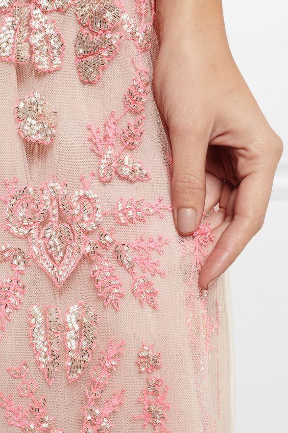 Detail Valentino gown.