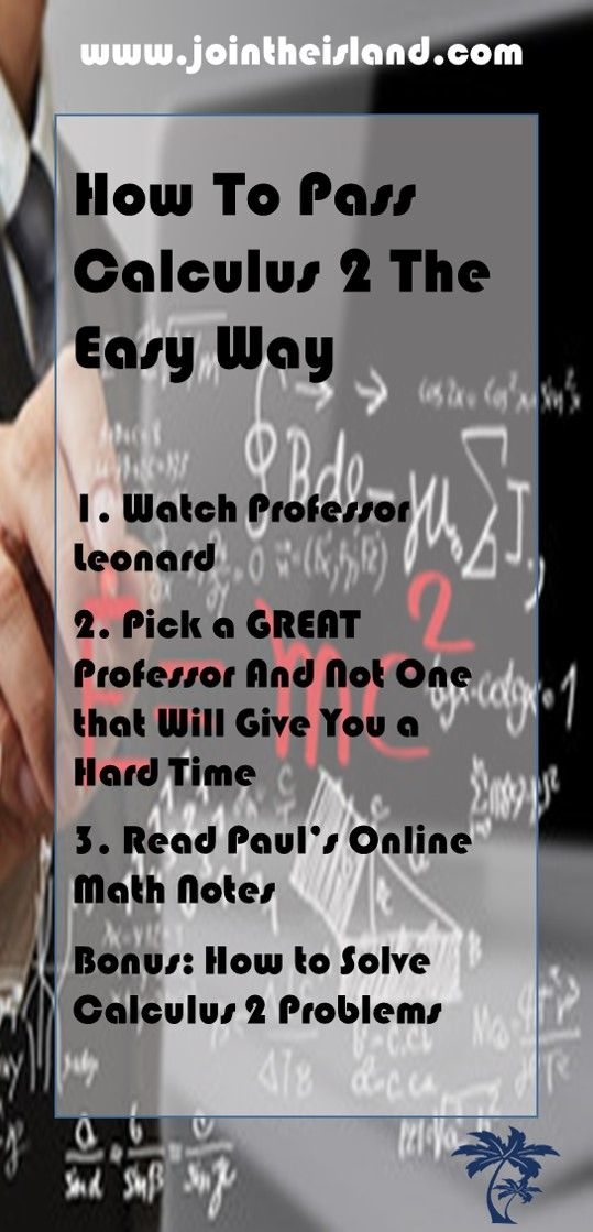 Handy Tricks For Acing Calculus 2 In College Calculus College Motivation Online Math Df dy d f ′ ( x ) = y′ = = = (. pinterest