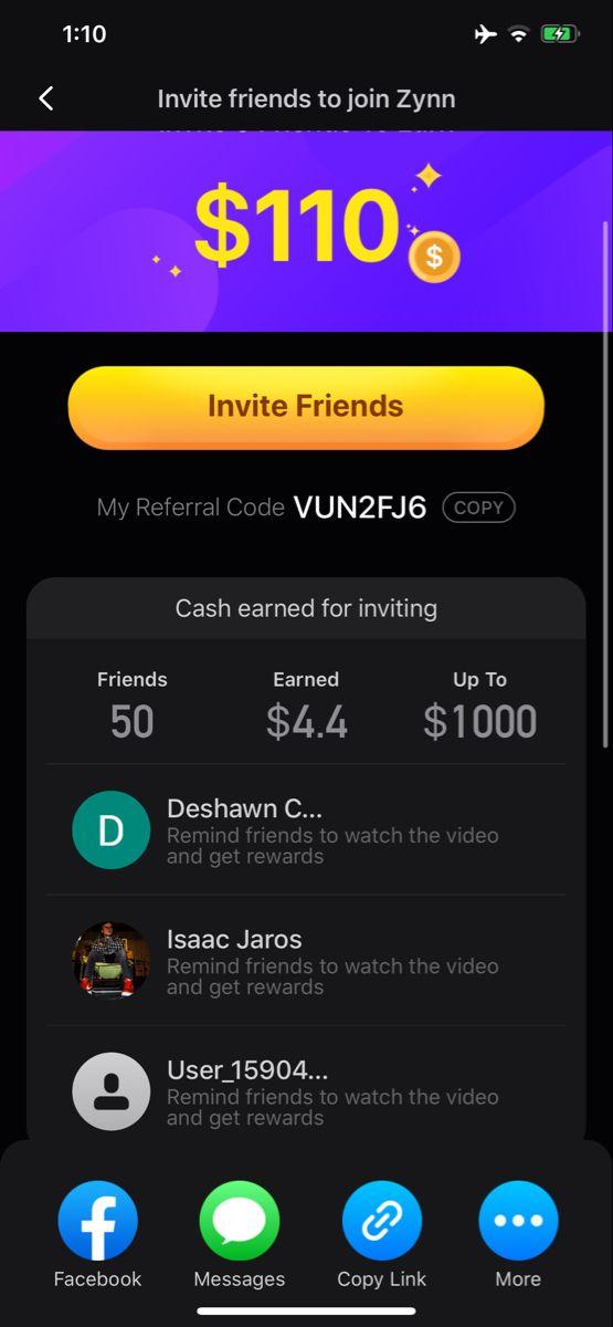 Earn Money Watching Tiktok Videos Copy The Code Money Apps Watch Funny Videos Quick Money