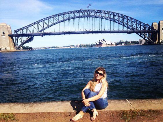 Sydney! #SydneyHarbourBridge by renatinhamottalage http://ift.tt/1NRMbNv