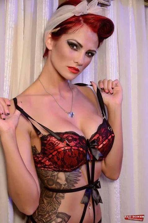 Model- Corrina Conway Tattoo artist- Jesse Rooker (pirate city tattoo) Photography- Bad Bones Photography