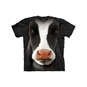 Black Cow Face Tee Youth, now featured on Fab.