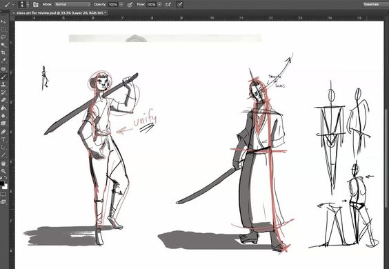 Posing Concepts for Drawing, Posing Concepts for Drawing with Sean Sullivan…