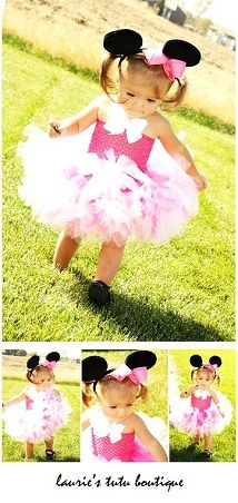 minnie mouse tutu outfit -- too adorable!