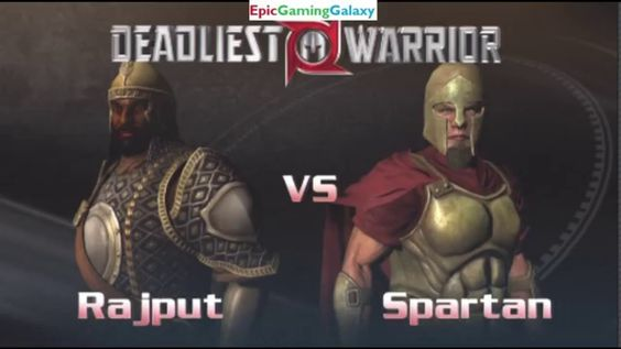 Spartan Warrior VS Rajput Warrior In A Deadliest Warrior The Game Match / Battle / Fight This video showcases Gameplay of The Spartan Warrior VS The Rajput Warrior In A Deadliest Warrior The Game Match / Battle / Fight