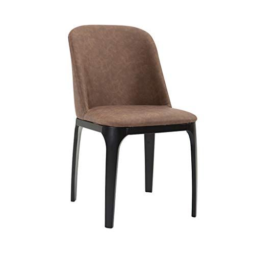 Dining Chairs Leather Kitchen Chairs With Sturdy Metal Legs Dining
