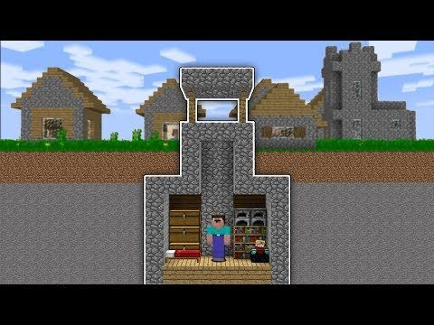 Minecraft Noob House Inside