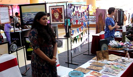Madras Art Guild 2020 Presents Art Bazaar on 15 & 16th February From 11 am to 9 pm at VR Chennai