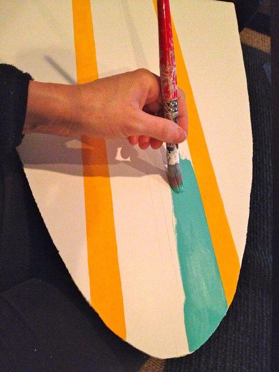 Surf board=Foam board ideas