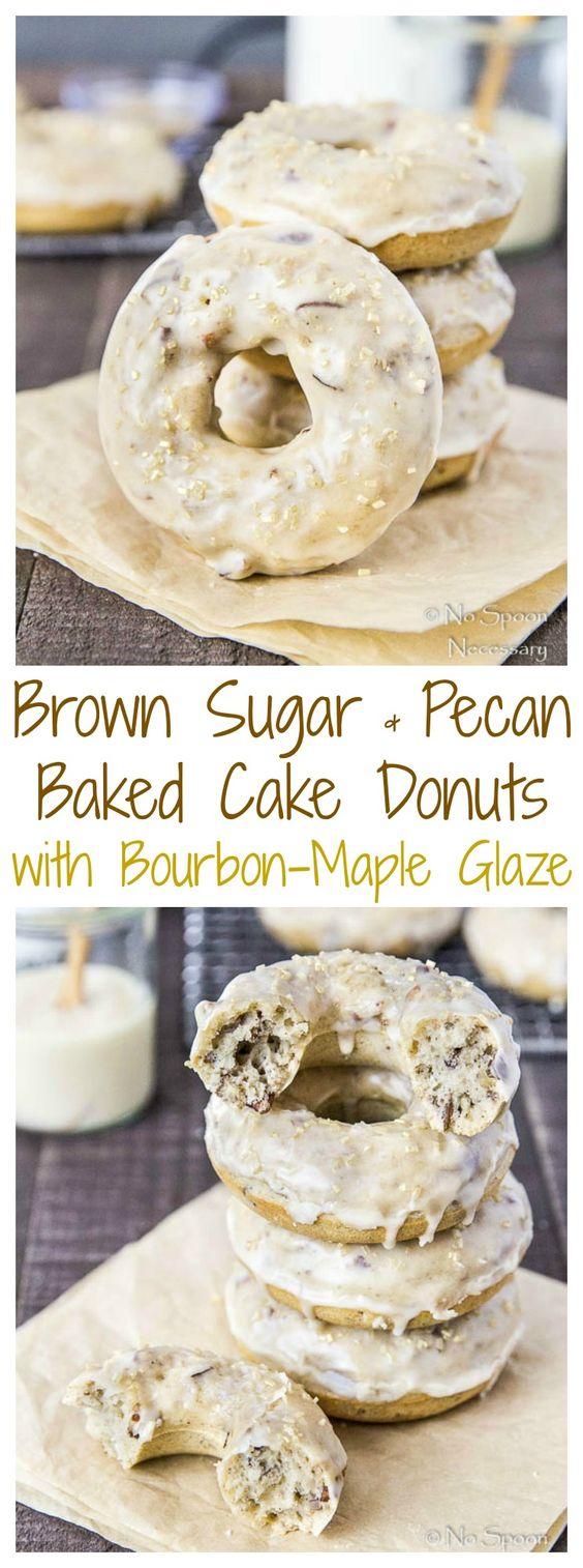 maple glaze donuts pecans bourbon brown sugar glaze sugar brown cakes ...