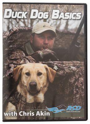 Avery Duck Dog Basics With Chris Akin Video Dvd
