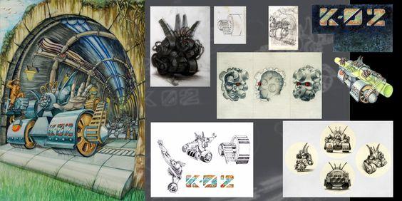 Proceso de creación de personaje K-02