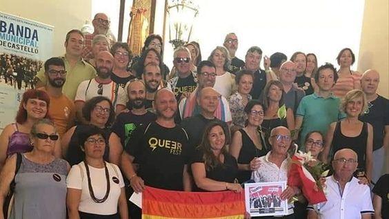 Pep Aguilar, en un homenaje que recibió en el Ayuntamiento de Castelló