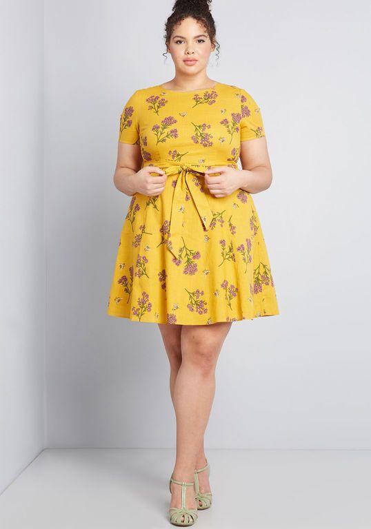 Airy Emphasis Mini Dress | Plus size short dresses, Plus ...
