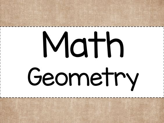 A Pinterest board all about Geometry.