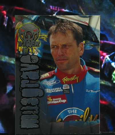 http://nascarniche.blogspot.com/  Ted Musgrave 1996 Wheels Viper Trading Card #12 Base Set Nascar