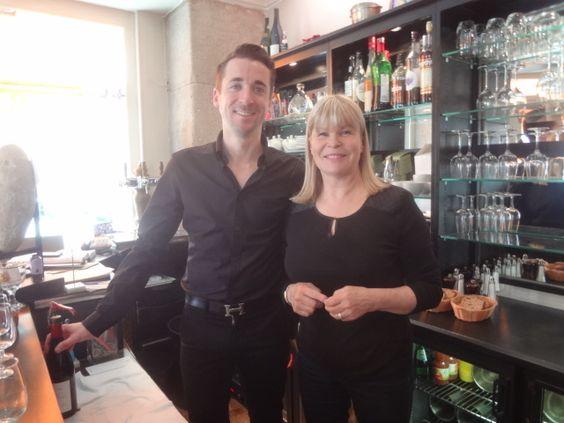 Ghislaine arabian au bar chez les petites sorci res paris 14e paris resta - Ghislaine arabian restaurant ...