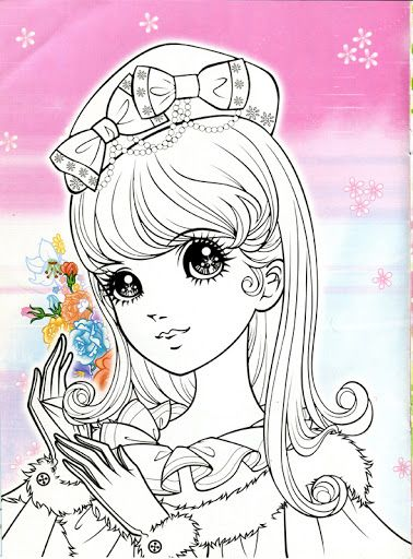 Korean Coloring Book - pink - Mama Mia - Álbuns da web do Picasa