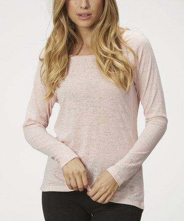This Crystal Rose Burnout Tee is perfect! #zulilyfinds http://ricochetranch.dressingyourtruth.com