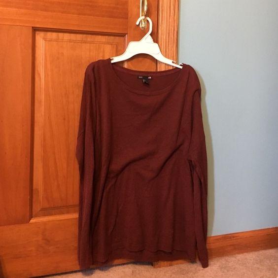 H&M Basic Sweater 60% Viscose 40% Cotton H&M Sweaters