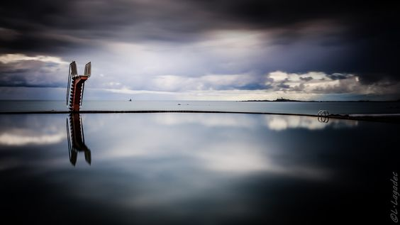 Plongeoir by Ludovic Lagadec
