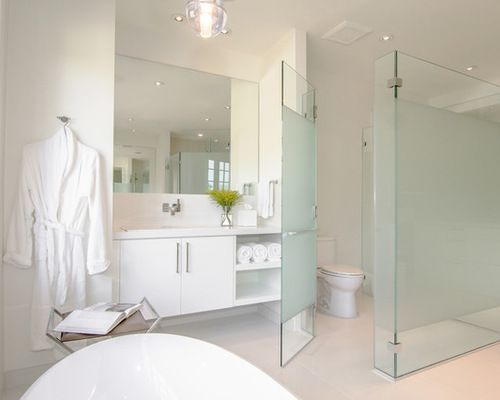 Bathroom Partition Glass On Bathroom Frosted Glass Toilet