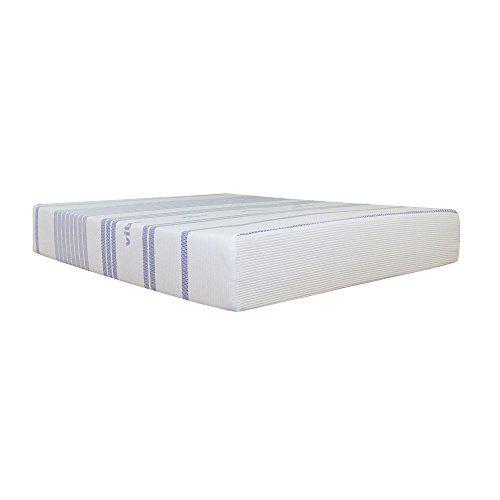Vibe 12 Inch Gel Memory Foam Mattress Full Queen Memory Foam