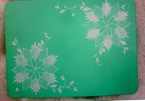 Fanciful Poinsettia Packet by Arlene Linton