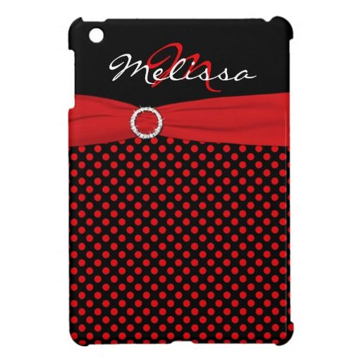 PRINTED RIBBON Red Black Polka Dot iPad Mini Case We have the best promotion for you and if you are interested in the related item or need more information reviews from the x customer who are own of them before please follow the link to see fully reviewsDeals          PRINTED RIBBON ...