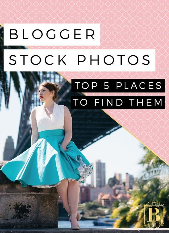 Blogs posts with photos are proven to attract more engagement than blog posts without! So today I am really excited to be helping you with this! I will share my top 5 places to find stock photos to use on your blog or business website! Click through and find out where to get them!