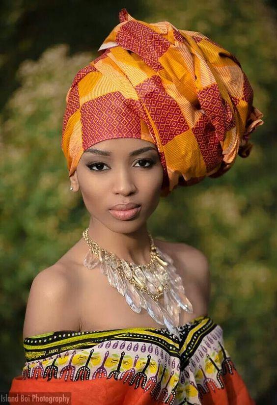 Африка девушки